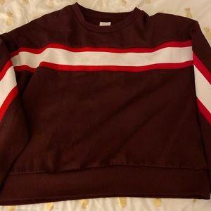 Burgundy Ardene Sweater